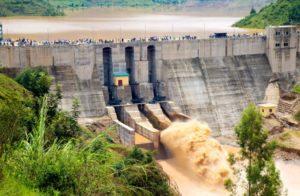 Rwanda's Nyabarongo hydro electric dam