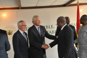GE President & CEO in Ghana