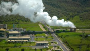 Olkaria geothermal power