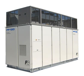 Natural-gas fuel cell solution