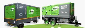 Compressors and portable generators