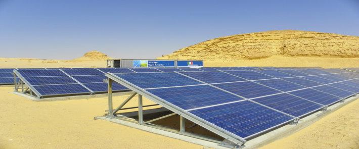 Egypt solar potential