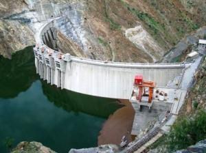 Gibe III hydroelectric dam in Ethiopia