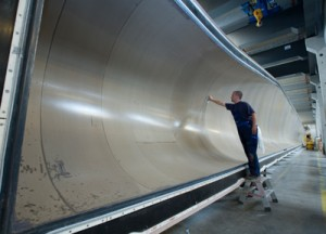 Siemens invest in Egyptian energy sector: Siemens rotor blades
