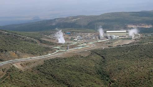 Olkaria Geothermal Plant