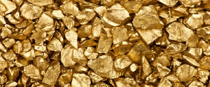 Gold pieces
