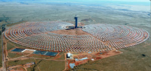 Khi solar one: Solar power plant using tower technology