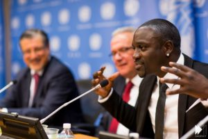 Akon Lighting Africa at SE4ALL Forum