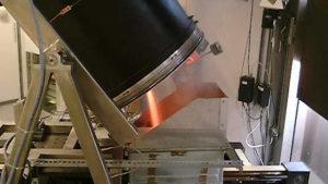 Solar rotary kiln for melting aluminium. German Aerospace Centre