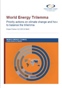 World Energy Trilemma report image