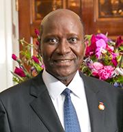 Daniel Kablan Duncan. Ivory Coast. Prime Minister. Pic credit World Bank
