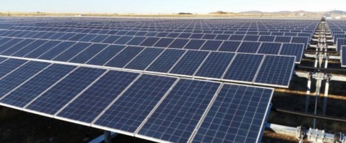 Linde solar power plant. S.Africa. Scatec Solar, Pic credits. APO