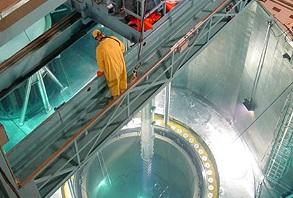 Nuclear reactor Core. Millstone