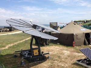Remules solar panel