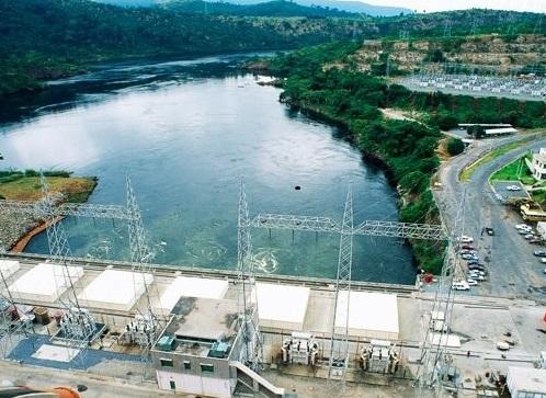 The Akosombo Dam. Ghana. Pic credit ALAMY