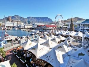 The V&A Waterfront is on of the three top consumers of water and electricity in Cape Town. Pic credit Willem Law