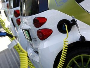 a smart electric car charging mobility_ah_55592. reuters