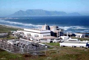 IAEA. Koeberg nuclear power station, Cape Town