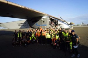 Pic credit: Solar Impulse