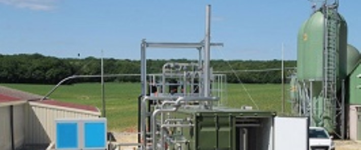 Biomethane plant in France. Pic credit WELTEC