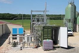 Biomethane plant. Pic credit WELTEC