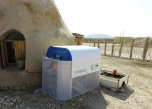 Homebiogas digestor. Pic credit: Israel21c