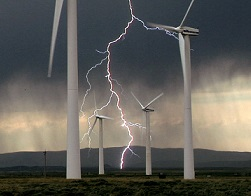 training academy. lightning wind turbine. Pic credit. Indigo Project