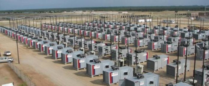 APR Energy. 70MW project in Botswana.