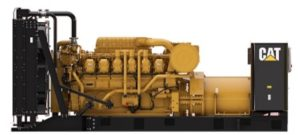 Standby generators. Cat 3512B generator unit (1360 kVA)