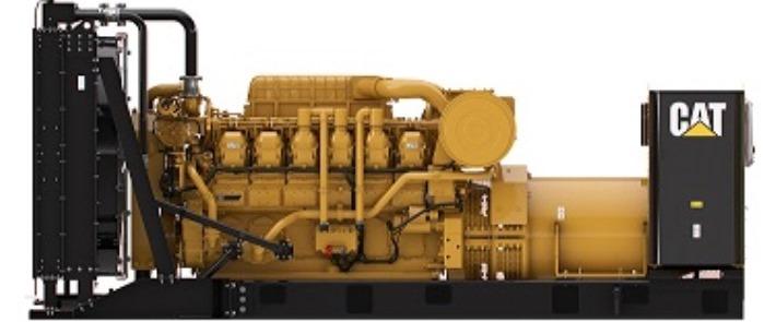 Standby generators. Cat 3512B generator unit (1360 kVA)