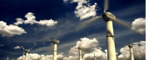 wind-turbine-blue-sky