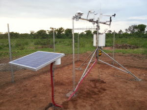 A solar PV measurement station. Pic credit: GeoSun