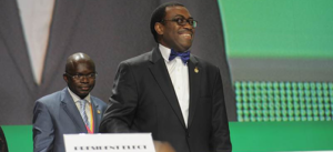 Newly inaugurated president of the African Development Bank, **** Adesina