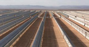 Large-scale solar power project