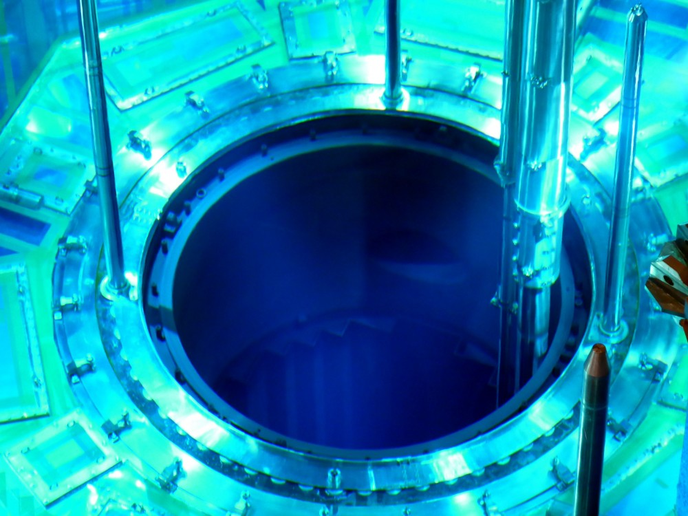 loading of fuel into the Nuclear reactor