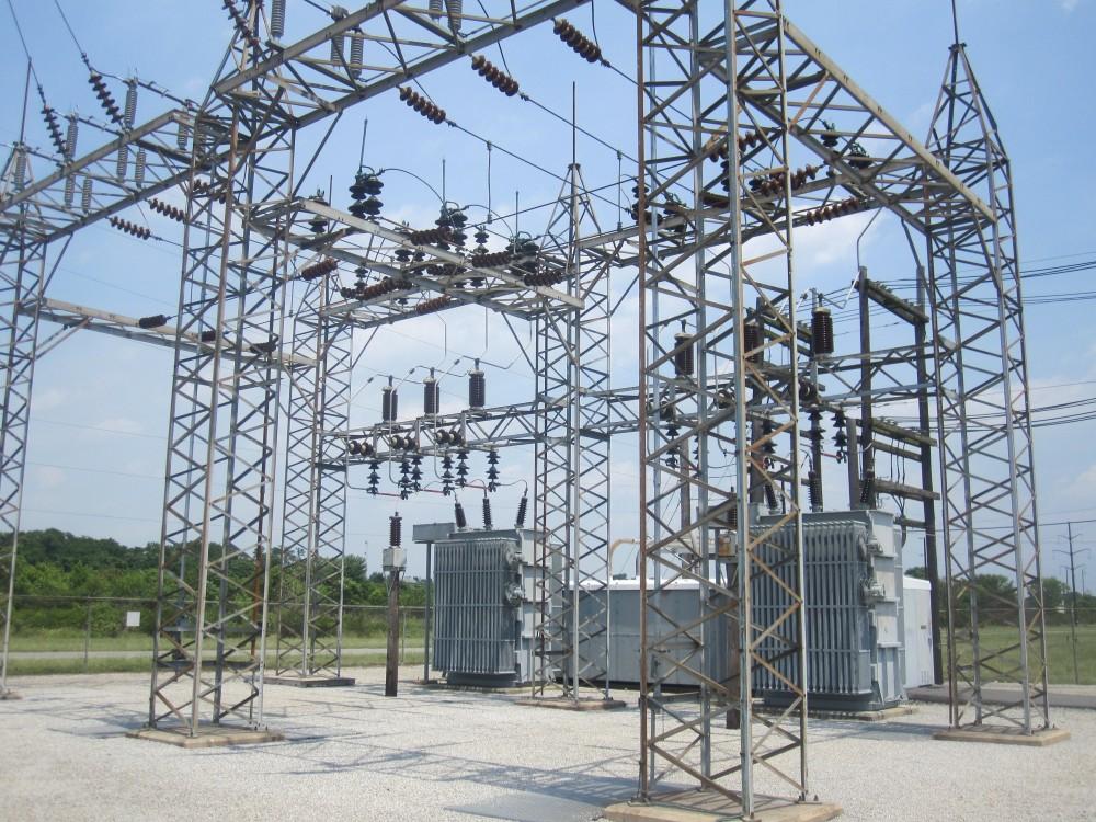 Nzeto power Substation