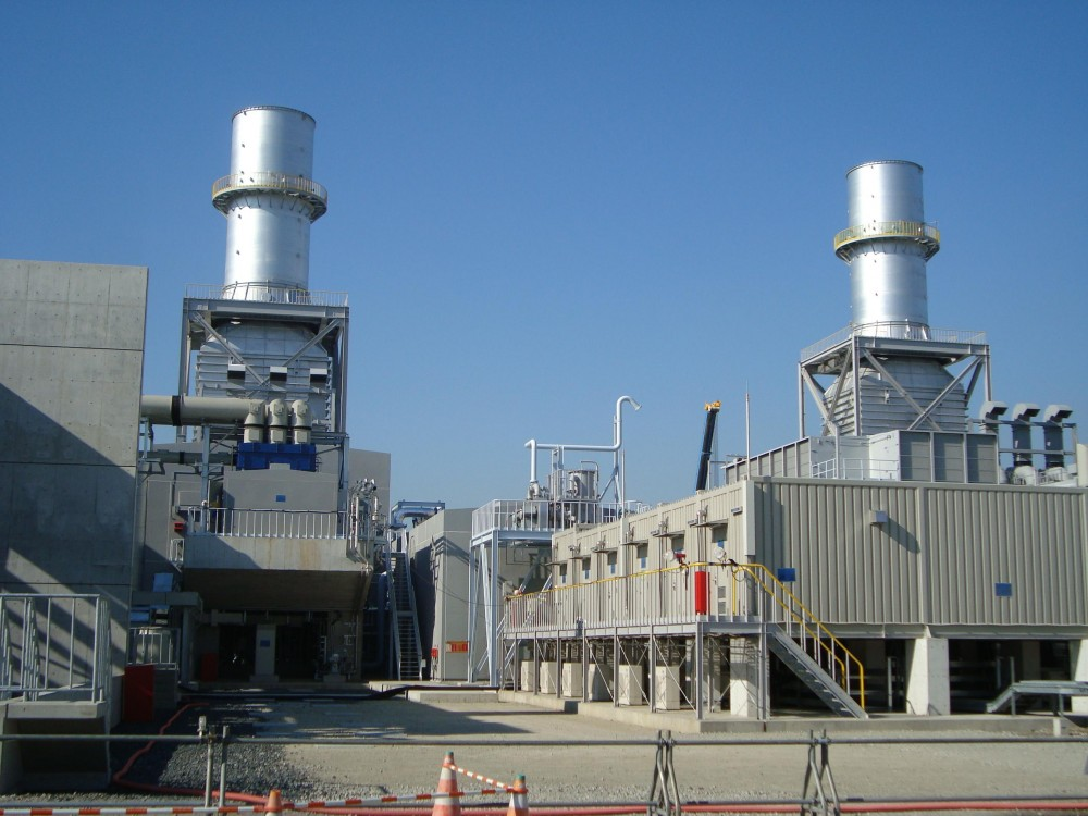 Dema emergency power plant