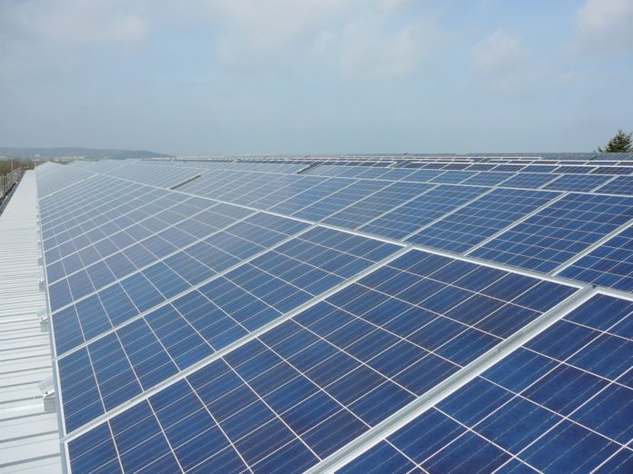 Direct current photovoltaic solar project