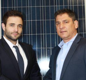 Neil Borthwick (left)