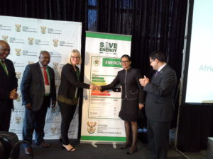 Tina Joemat-Pettersson energy efficiency label