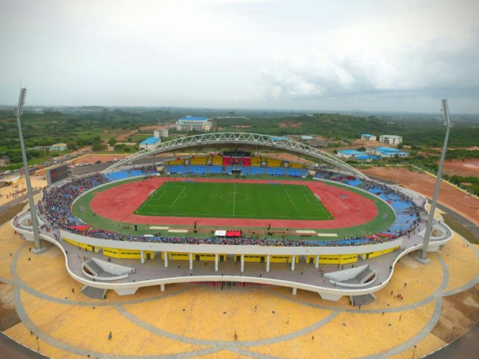 Cape Coast Stadium, Newcape