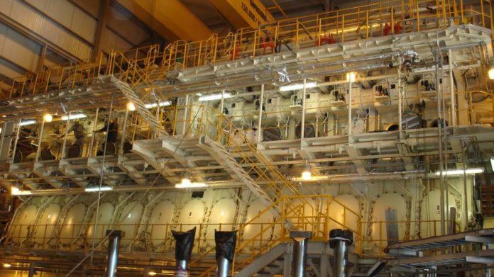 Diesel-powered plant