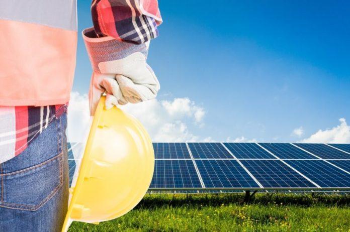 solar hybrid power plant