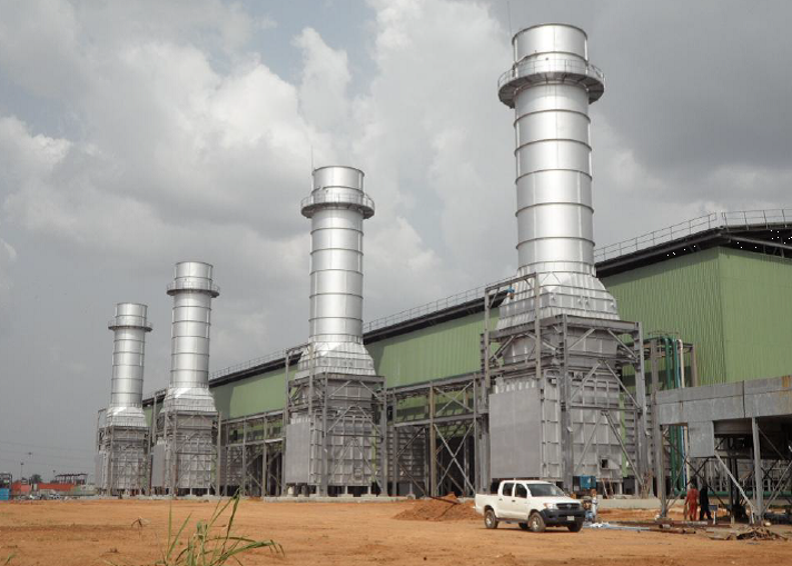 Alaoji combined cycle gas plant