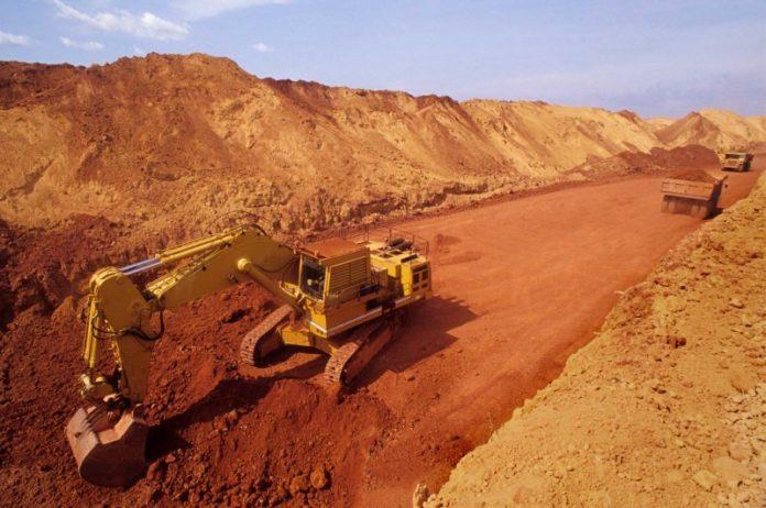 Aluminium mine