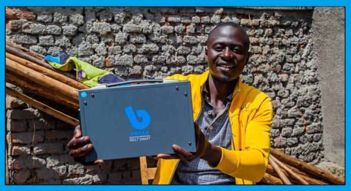 Rwandan customer. Pic credit: BBOXX