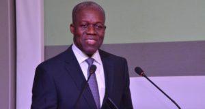 Ghana's vice president Paa Kwesi Amissah-Arthur
