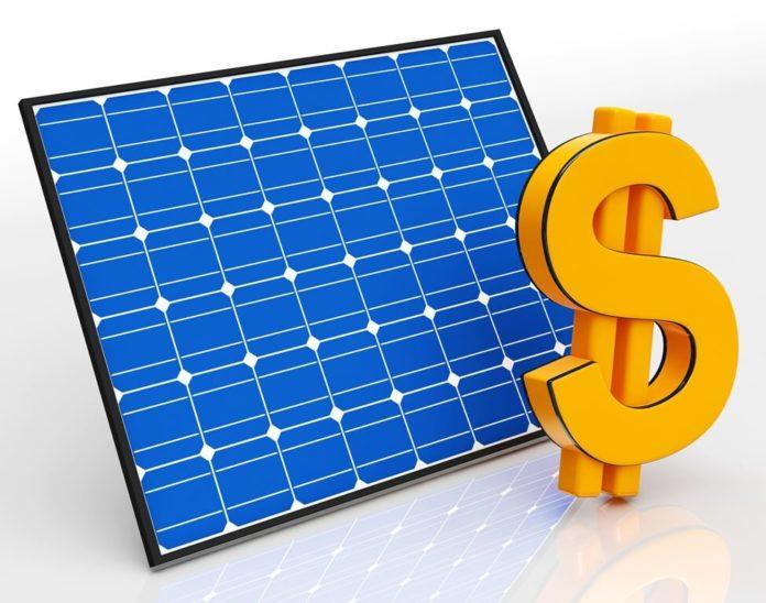 solar energy sale price