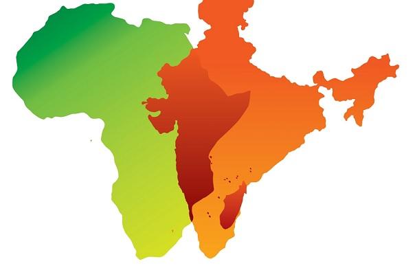 Africa India. Pic credit: newsflicks
