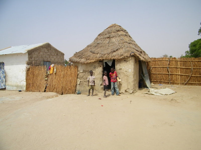 Senegalese village. Source: The Solar Village Project